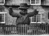 Topiary in Pub Garden 1930s