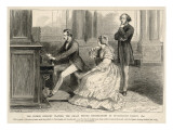 Felix Mendelssohn Listens to Prince Albert Play the Organ