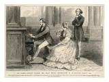 Felix Mendelssohn Listens to Prince Albert Play the Organ