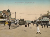 Train on King William Street  Adelaide  South Australia  1900s