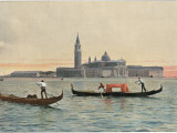 Venice: General View across the Water to the Church of San Giorgio Maggiore