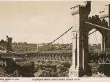 Suspension Bridge  North Shore  Sydney  New South Wales  Australia in 1930