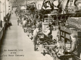 Assembly Line at the Rouge Plant