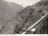 Surprise Creek Bridge on the Cairns Railway  Queensland  Australia  1930s