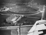 The 1936 Berlin Olympic Stadium  Aerial View  in Berlin  Germany in 1936