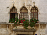 Windows in Porec  Croatia