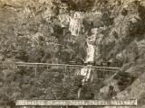 Train Crossing Stoney Creek on the Cairns Railway  Queensland  Australia