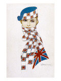 Union Jack Hat and Scarf