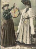 A Fortune-Teller Uses a 'Wheel of Fortune'