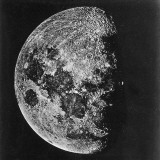 The Moon Photographed on the Tenth Day of the Lunar Cycle
