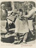 Travelling Barber  Turkey - Shaving a Customer