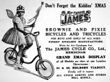 For Boy and Girls of All Ages  the Famous James Bicycles and Tricycles Advertisement