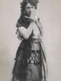 Emmy Destinn Czech Opera Singer as Carmen