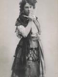 Emmy Destinn Czech Opera Singer as Carmen