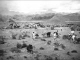 Mountain Scene in Kashgar  Western China