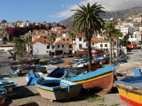 Fishing Boats at Camara De Lobos  Madeira