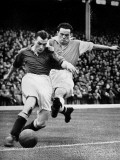 Bryn Jones Tackling Gillick  Arsenal Vs Everton  1938