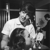 Hairdresser at Work - 1960s