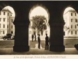 A View Through the Arcading of the Quadrangle at Victoria College  Alexandria  Egypt
