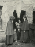 Salvation Army Slum Sisters on a Home Visit