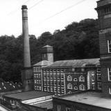 Arkwrights Cotton Mill  Derbyshire