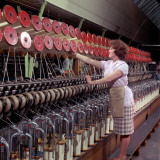 Operating a Wool-Winding Machine