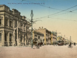 King William Street  Adelaide  South Australia  1900s