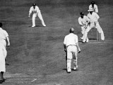 JB Hobbs Scores the Run to Make His 126th Century  1926