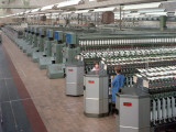 Banks of Winding Machines for Acrylic Yarn