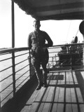 Officer on Board a Ship at Shat El Arab  Iraq
