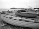 Boats on Brighton Beach  Sussex