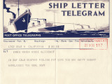 Ship Telegram with Message
