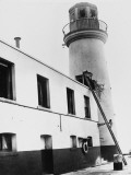 Scarborough Lighthouse Damage  1914
