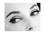 A Woman's Eyes with Typical Sixties Make-Up