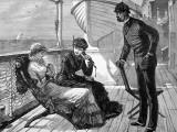 On Board a Passenger Ship  1883