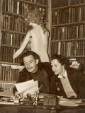 Mr and Mrs Salvador Dali