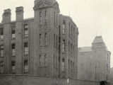 Infirmary Ward Blocks at Hackney Union Workhouse on Homerton High Street