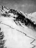 Italian Alpini Climbing Monte Adamello