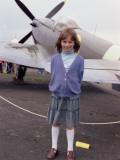 Little Girl at Kenley Air Show
