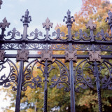 Decorative Wrought Iron Gates at Abney Hall  Cheadle