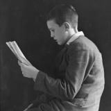 Boy Reading  Photographic Portrait 1936