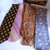 Four Yves Saint Laurent Ties