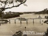 Fig Tree Bridge over the Lane Cove River  Sydney  New South Wales  Australia