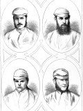Four Leading Cricketers of 1874