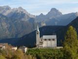 Church in Pieve Di Cadore  Trento  Italy