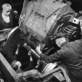 Installing an Engine for a Diesel Locomotive