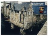Picturesque Men's Convenience at Pont Aven  Bretagne  France