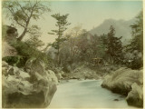 River Scene in Japan