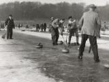 Curling on Loch Leven