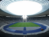 Interior of the Olympic Stadium  Berlin  Germany